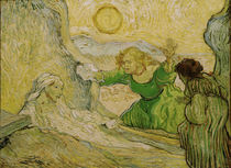 Van Gogh,Die Wiedererweckung des Lazarus von AKG  Images