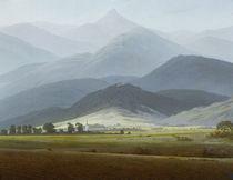 Friedrich/Riesengebirgslandschaft/1810 von AKG  Images
