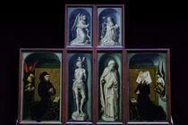 R.van der Weyden, Heilige, Rolin u.a. von AKG  Images