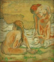 F.Marc, Zwei badende Frauen von AKG  Images