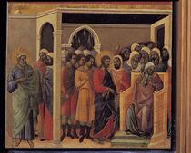 Duccio, Christus vor Kaiphas von AKG  Images
