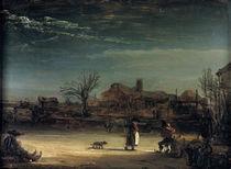 Rembrandt, Winterlandschaft/ 1646 von AKG  Images