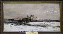 Ch.F.Daubigny, Der Winter by AKG  Images