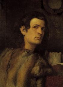 Giorgione/ Bildnis eines jungen Mannes by AKG  Images