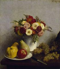 H.Fantin Latour, Fleurs et fruits by AKG  Images