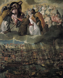 Seeschlacht bei Lepanto 1571 / Veronese by AKG  Images