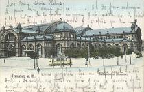 Frankfurt a.M., Hauptbahnhof / Postkarte by AKG  Images