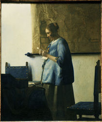 Vermeer / Briefleserin in Blau von AKG  Images