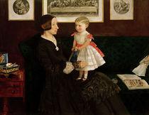 J.E.Millais, Mrs.James Wyatt u.Tochter by AKG  Images