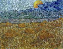 V.van Gogh, Abendlandschaft Mondaufgang by AKG  Images