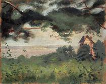 F.Vallotton, Honfleur, vue sur l'est. von AKG  Images