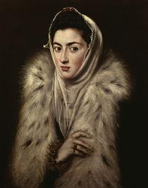 El Greco/ Dame mit Pelz by AKG  Images