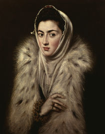 El Greco/ Dame mit Pelz von AKG  Images