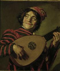 Frans Hals/ Der Lautenspieler/ um 1625 von AKG  Images