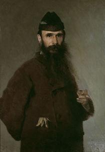I.Kramskoj, Bildnis A.Letutschenko by AKG  Images