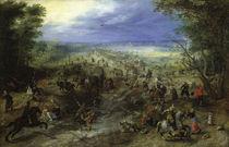 J.Brueghel d.Ae., Der Ueberfall von AKG  Images