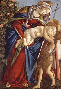 S.Botticelli, Maria mit Kind u.Johannes von AKG  Images