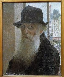 Camille Pissarro, Selbstportraet by AKG  Images