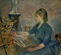 B.Morisot, Paule Gobillard malend by AKG  Images