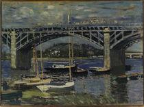 C.Monet, Bruecke bei Argenteuil 1874 von AKG  Images