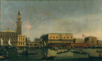 Venedig, Dogenpalast etc. / Canaletto by AKG  Images