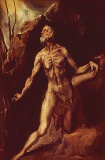 El Greco, Hl.Hieronymus by AKG  Images