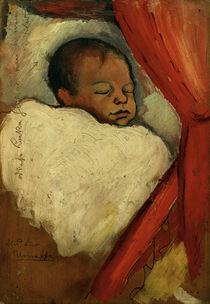 A.Macke, Walter, drei Tage alt, 1910 by AKG  Images