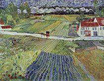 V.v.Gogh, Landschaft mit Pferdewagen by AKG  Images
