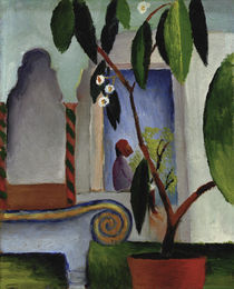 August Macke, Arabisches Cafe by AKG  Images