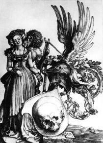 Duerer, Wappen mit Totenkopf by AKG  Images