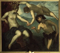 Tintoretto, Bacchus & Ariadne by AKG  Images
