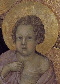 Duccio, Maesta, Jesusknabe von AKG  Images