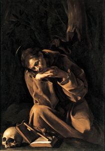 Caravaggio,  Franz von Assisi von AKG  Images