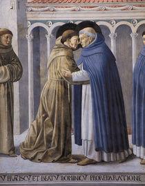 B.Gozzoli, Franziskus u.Dominikus by AKG  Images