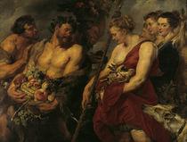 P.P.Rubens, Dianas Heimkehr von der Jagd by AKG  Images