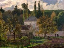 C.Pissarro, Landhaus Hermitage von AKG  Images