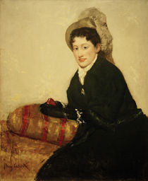 M.Cassatt, Portraet von Madame X by AKG  Images