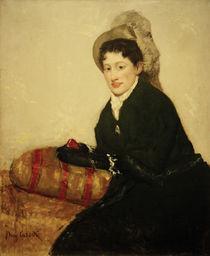 M.Cassatt, Portraet von Madame X von AKG  Images