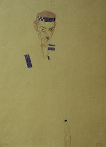 Egon Schiele, Selbstbildnis 1909 von AKG  Images