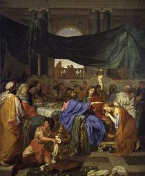 Ch.Le Brun, Gastmahl im Hause Pharisaeers von AKG  Images