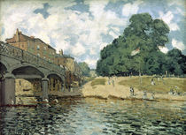 A.Sisley, Bruecke bei Hampton Court by AKG  Images