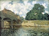 A.Sisley, Bruecke bei Hampton Court von AKG  Images