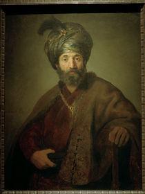 Rembrandt, Mann in oriental.Kostuem von AKG  Images