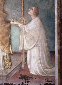 Simone Martini, Wunder der Messe,Diakon by AKG  Images