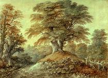 Th.Gainsborough, Buchen bei Foxley von AKG  Images