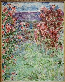 Claude Monet,Das Haus zwischen den Rosen von AKG  Images