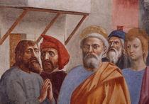 Masaccio,Petrus heilt m. Schatten,Detail by AKG  Images