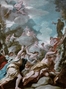 Luca Giordano, Der Tod des Orpheus by AKG  Images