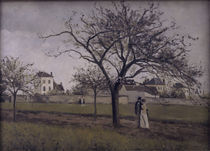 C.Pissarro, Das Haus von Pere Gallien von AKG  Images