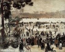Renoir/Schlittschuhlaeufer .../ 1868 von AKG  Images